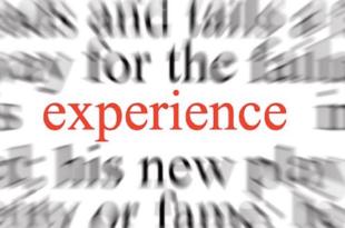 experiencia palabra