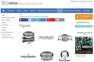 pagina web con logotipos