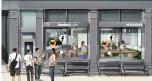 Facebook abrirá cafés temporales en Londres