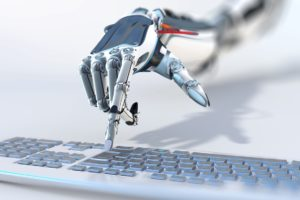 mano robótica y automatización