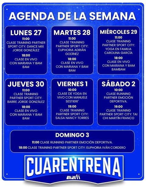 comercio online Martí Cuarentena