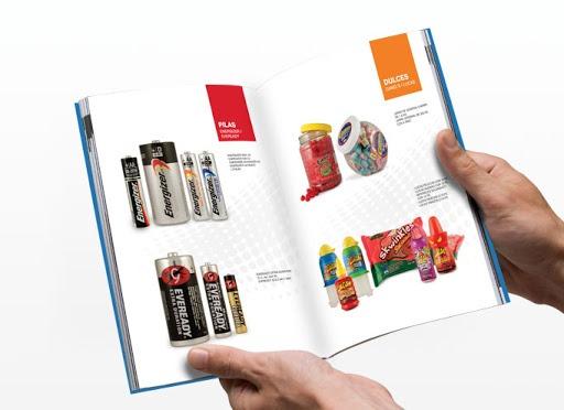 catálogo web productos y servicios