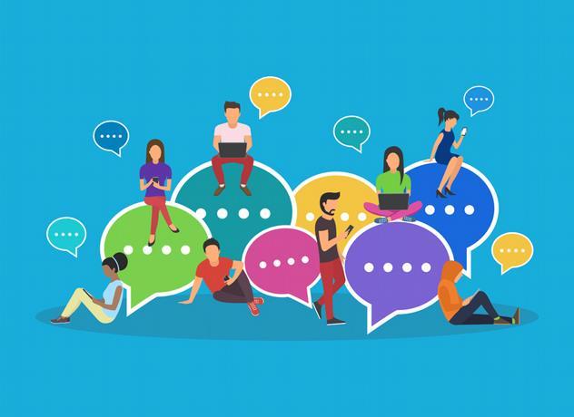 interacción redes sociales