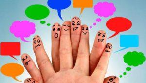 interacción con estrategia de redes sociales
