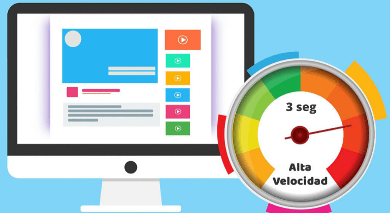 velocidad de carga página web